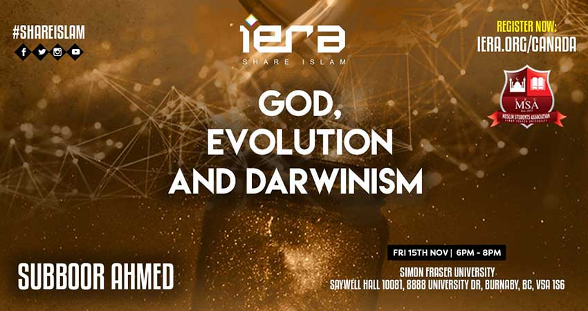 iERA Canada God, Evolution and Darwinism