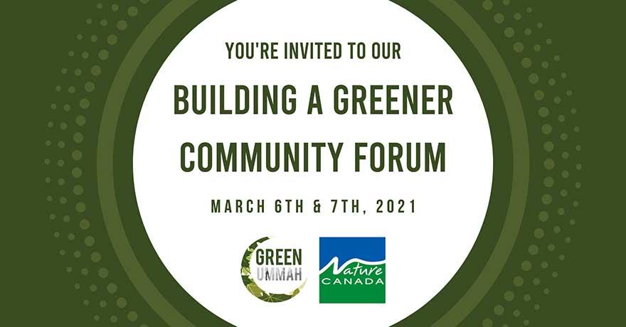ONLINE Green Ummah Building a Greener Community Conference