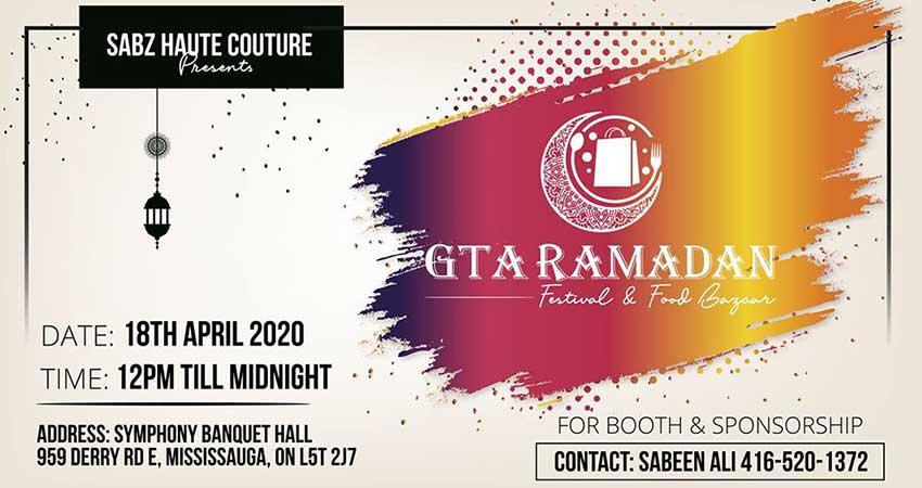 GTA Ramadan Festival & Food Bazaar