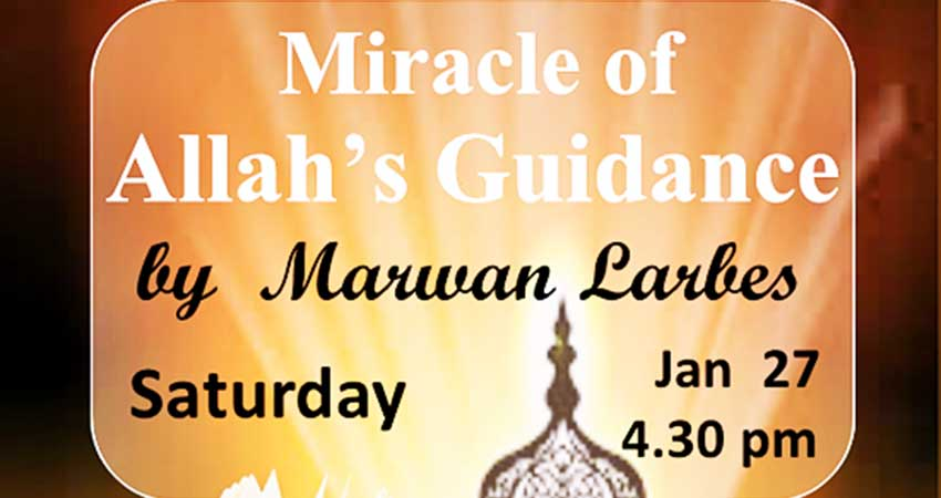 Miracle of Allah's Guidance with Marwan Larbes