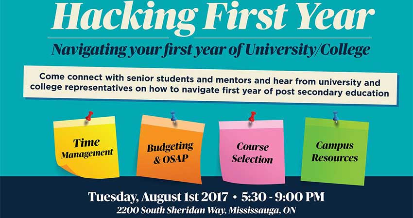 Hacking First Year: Navigating First Year of College/University