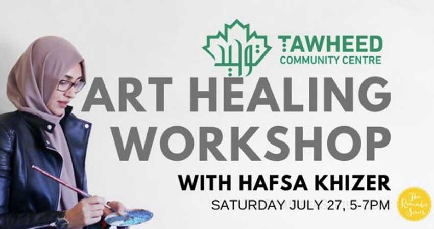 Art Healing Workshop with Hafsa Khizer