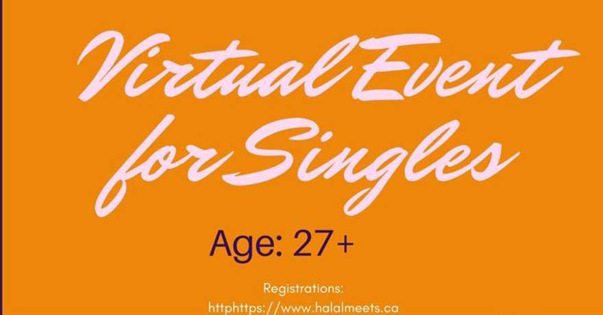 Halal Meets Virtual Event for North American Singles (Ages over 27)