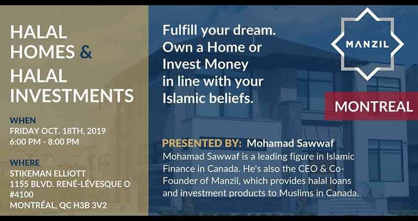 Manzil Inc Montreal Seminar: Halal Homes and Investments