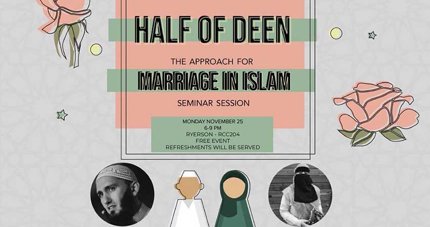 Half of Deen: The Approach for Marriage in Islam