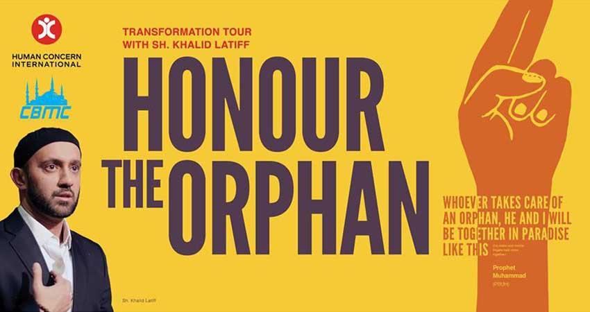 Human Concern International Transformation Tour with Shaikh Khalid Latif  Honour the Orphan