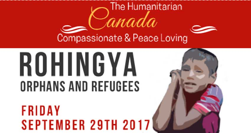 Human Concern International Dinner Fundraising for Rohingya Refugees