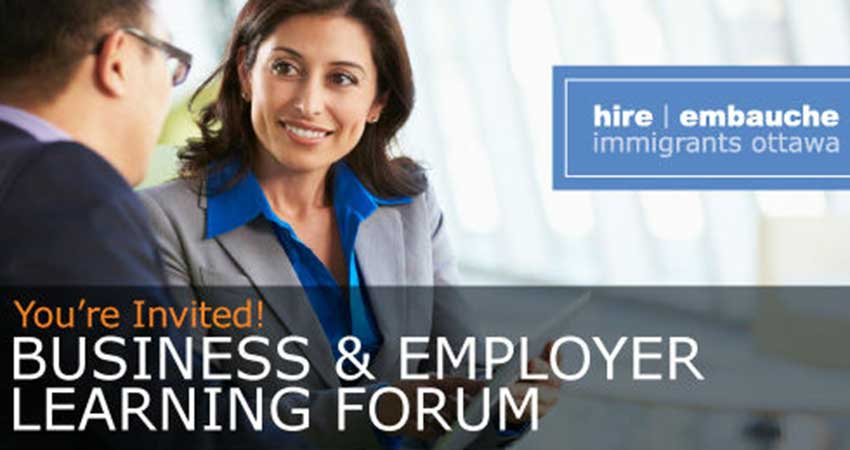 Hire Immigrants Ottawa Business and Employer Learning Forum