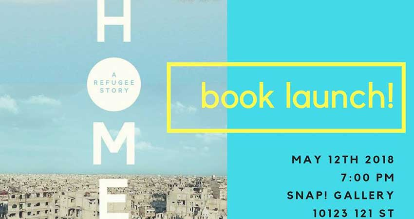 Homes: A Refugee Story Book Launch with Abu Bakr al Rabeeah and Winnie Yeung