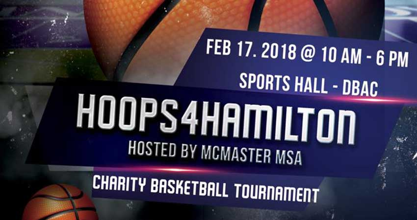 Hoops4Hamilton - Charity Basketball Tournament