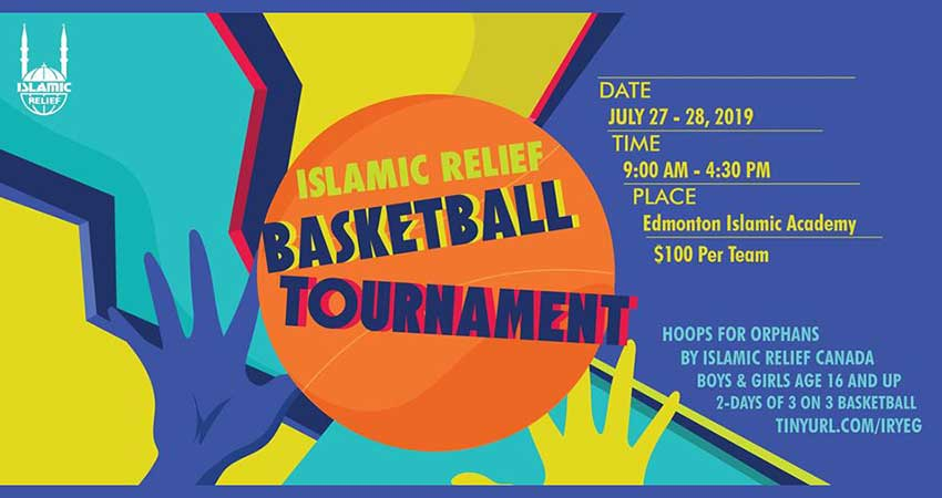 Islamic Relief Canada Hoops for Hope: Support Orphans Worldwide