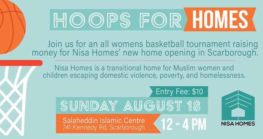 Hoops for Homes: Women's Basketball Tournament Fundraiser for Nisa Homes