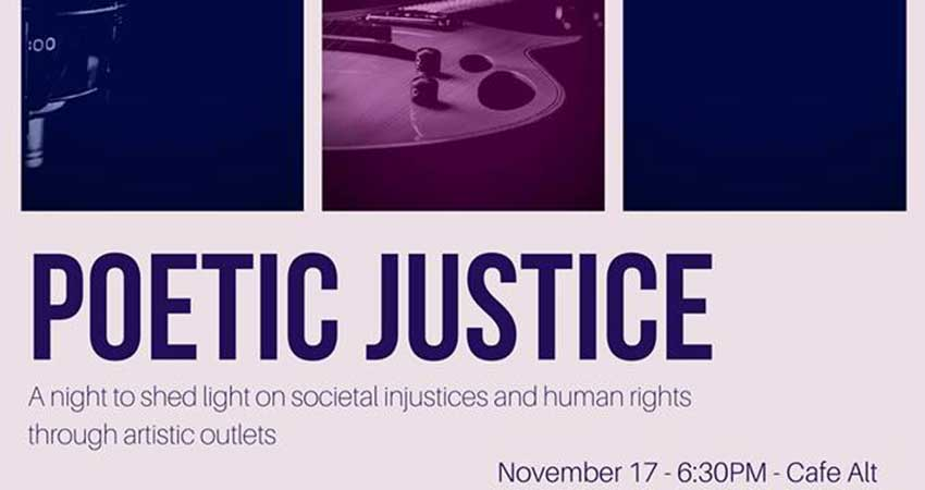 Muslim Law Students Association Poetic Justice Night
