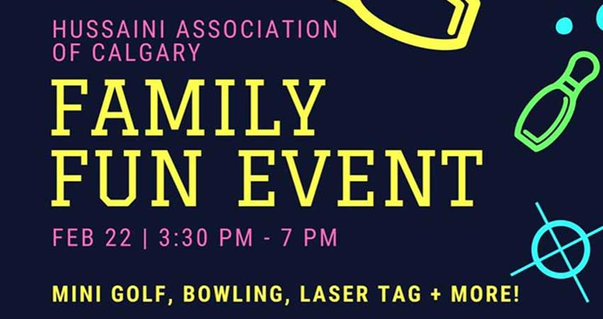 Hussaini Association Of Calgary Family Fun Event