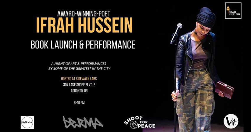 Ifrah Hussein's Book Launch Celebration
