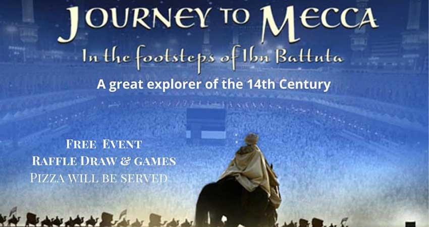 ICNA Sisters Calgary Family Movie Night: Journey to Mecca The Story of Ibn Batuta