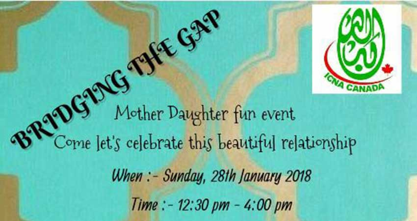 Bridging The Gap Mother Daughter Fun Event
