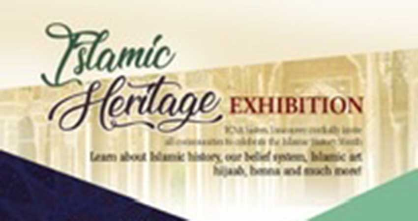 ICNA Sisters Vancouver Islamic Heritage Exhibition