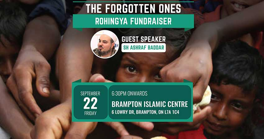 IDRF The Forgotten Ones Rohingya Fundraiser (West GTA)