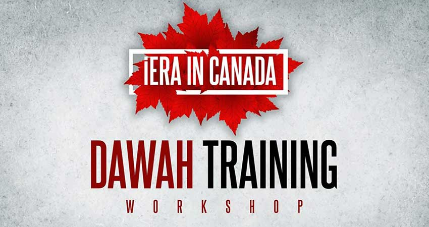 IERA Canada Foundational Dawah Training Workshop