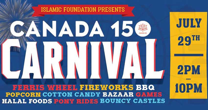 Islamic Foundation of Toronto Canada 150 Carnival