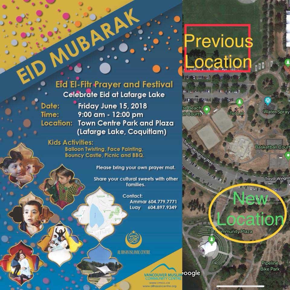 Eid Al Fitr Prayers & Children\'s Festival and BBQ