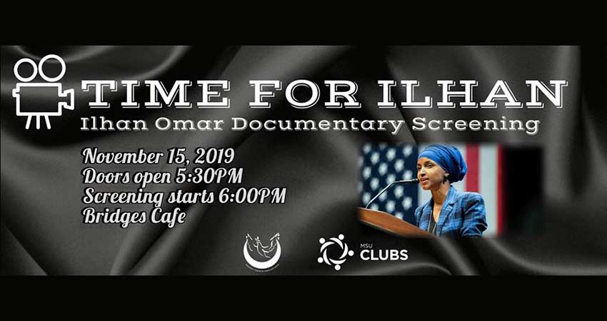 Documentary Screening: Time for Ilhan