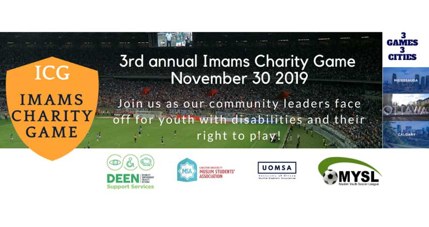 Annual Imams Charity Game for Deen Support Services