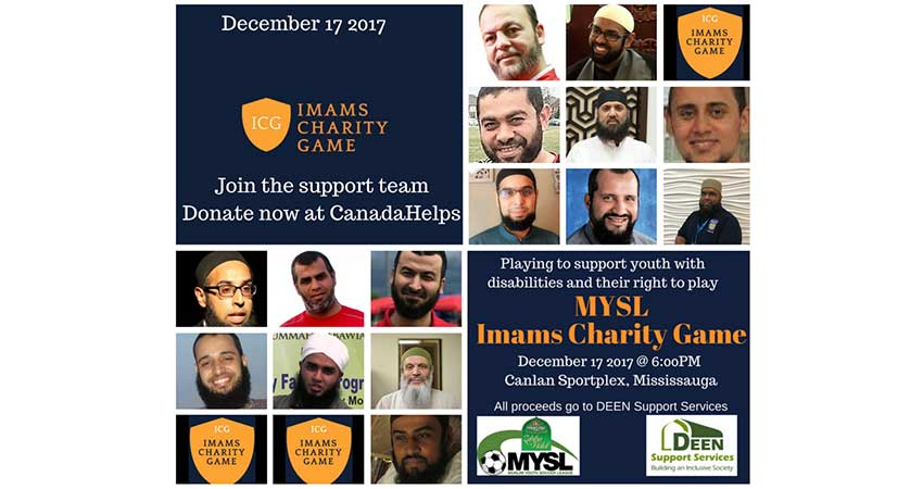 Muslim Youth Soccer League Imams Charity Game