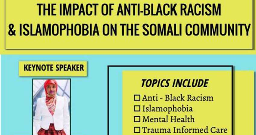 Impact of Anti-Black Racism and Islamophobia on the Somali Community