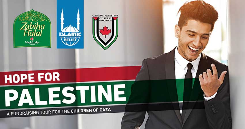 Islamic Relief Canada Hope For Palestine with Mohammed Assaf Edmonton
