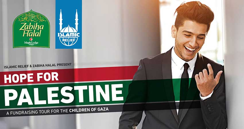 Islamic Relief Canada Hope for Palestine with Mohammed Assaf Montreal