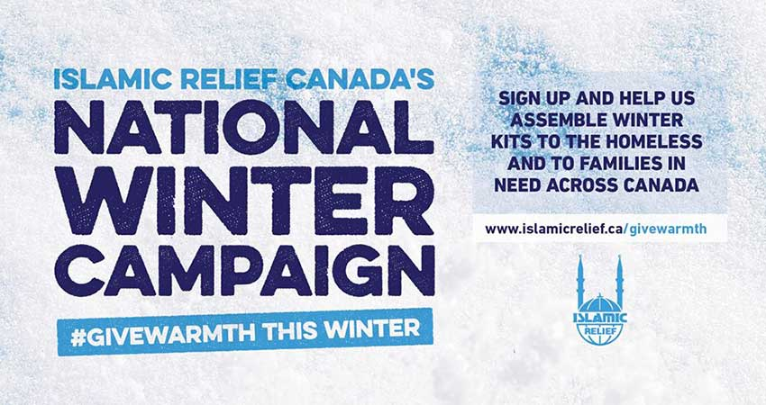 Islamic Relief Canada Winter Kit Assembly Ottawa