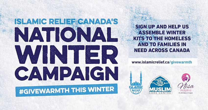 Islamic Relief Canada Winter Kit Assembly Vancouver