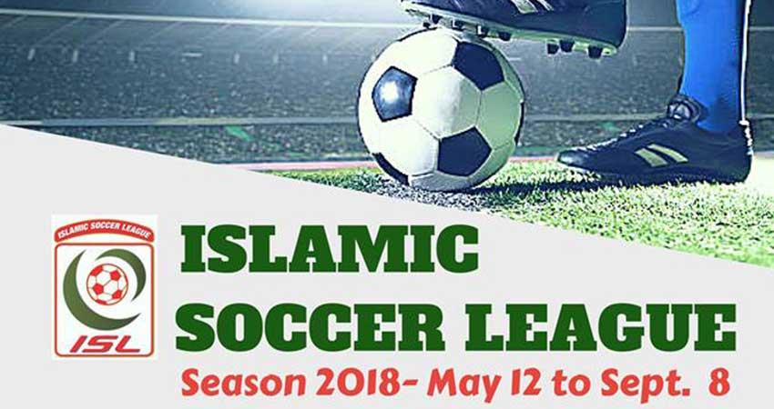 Islamic Soccer League Registration
