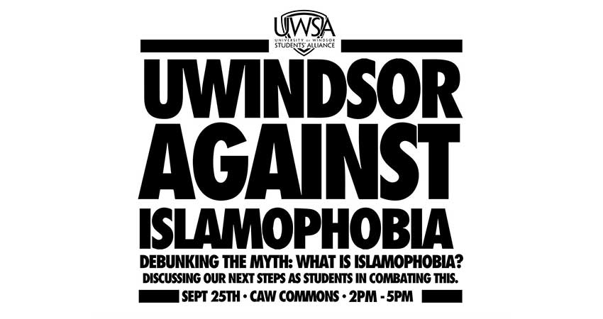 UWindsor Against Islamophobia: What is Islamophobia?