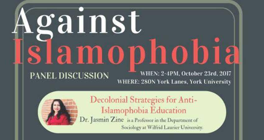 Against Islamophobia Panel Discussion