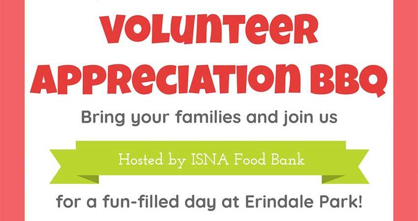 ISNA Canada Food Bank Volunteer Appreciation BBQ