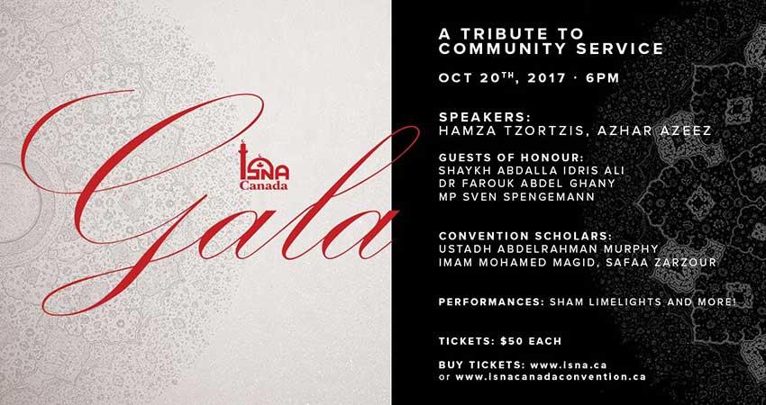 ISNA Canada Gala - A Tribute to Community Service