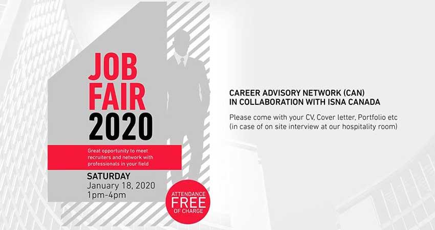ISNA Job Fair 2020