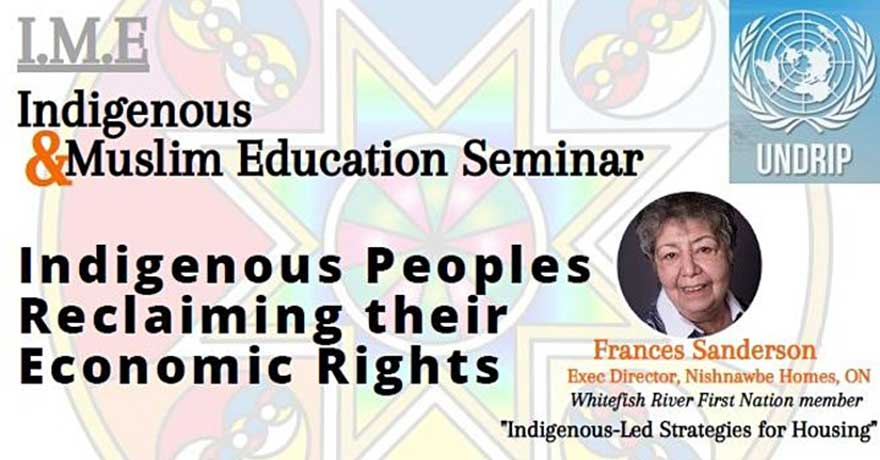 Islamic Social Services Association Inc. Indigenous Peoples Reclaiming their Economic Rights