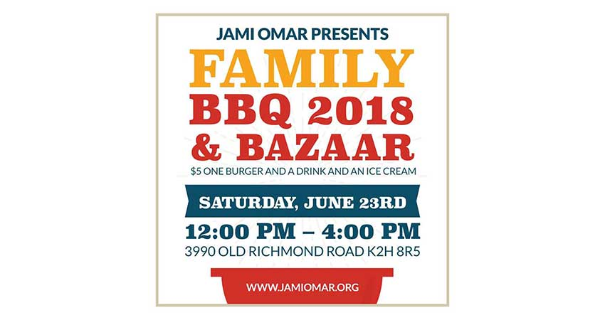 Annual Jami Omar Family BBQ 2018