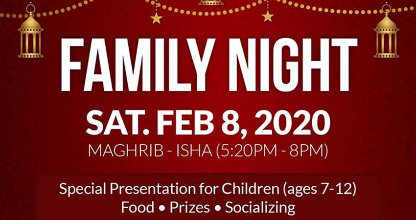 Jami Omar Family Night
