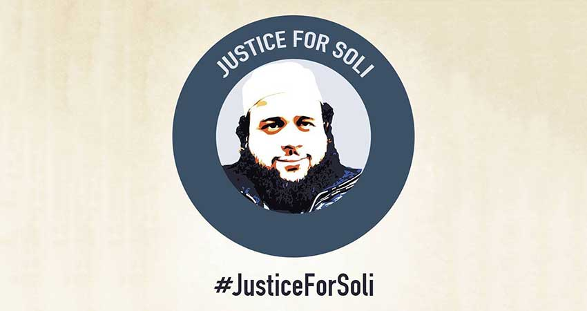Justice for Soli Speaking Tour