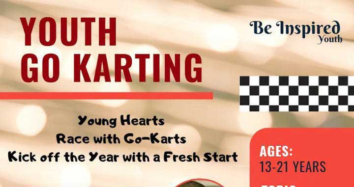Be Inspired Youth Go-Karting with Shaykh Musleh Khan