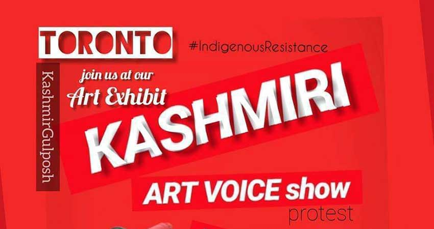 Kashmir Gulposh Kashmiri Resistance: Art Exhibit
