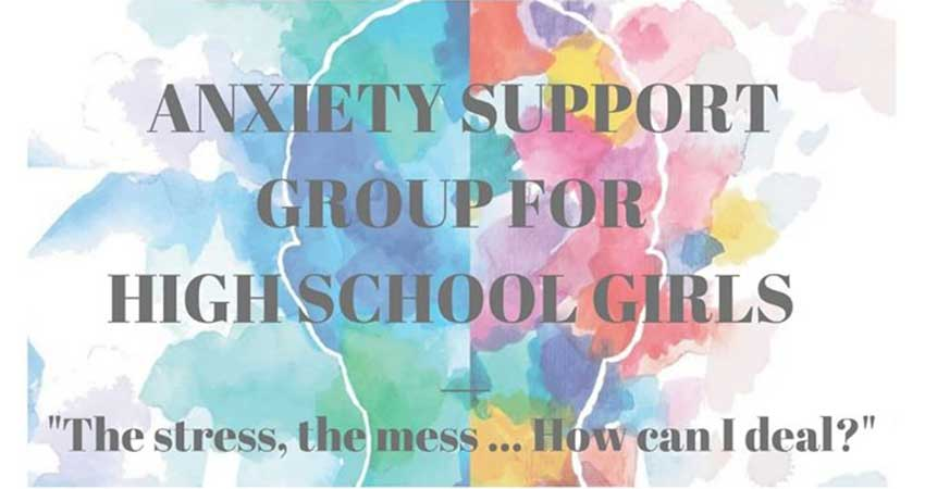 Khalil Center Anxiety Support Group for High School Girls Registration