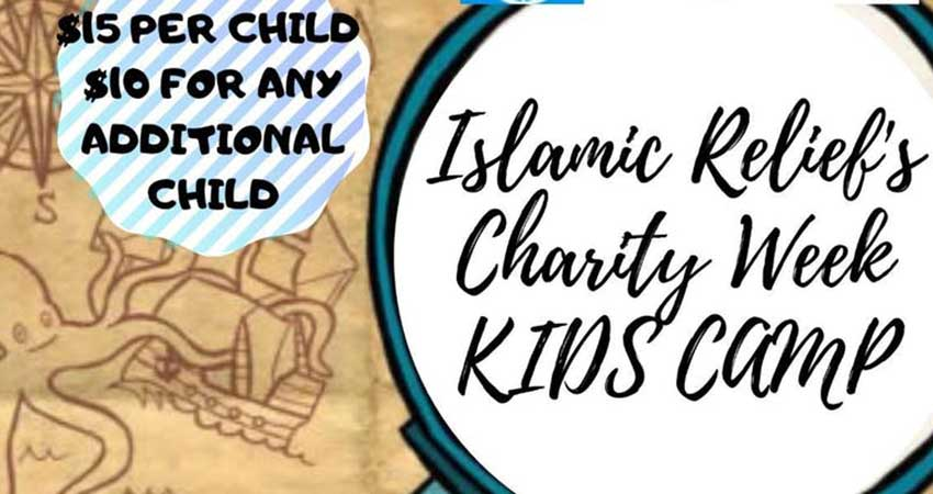 Islamic Relief Halifax Chapter Charity Week Fundraiser Kids Day Camp