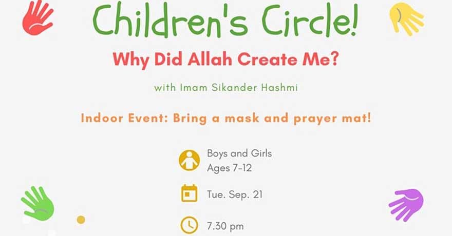 Kanata Muslim Association Children's Circle (Ages 7 to 12)