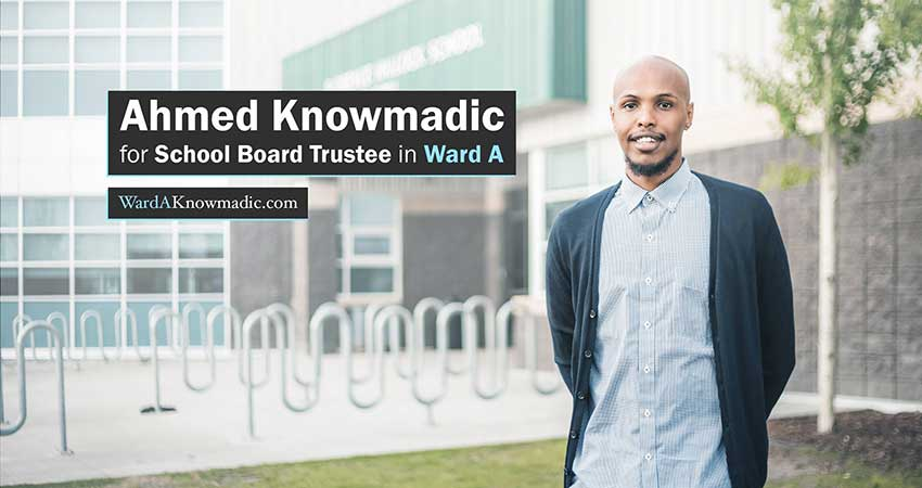 Fundraiser to Support Ahmed 'Knowmadic' Ali's Run for School Board Trustee